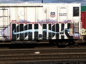 Graffiti - Munk
