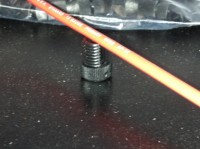 12 ga. wire doesn't fit into 12 ga. Posi-Tap connector.
