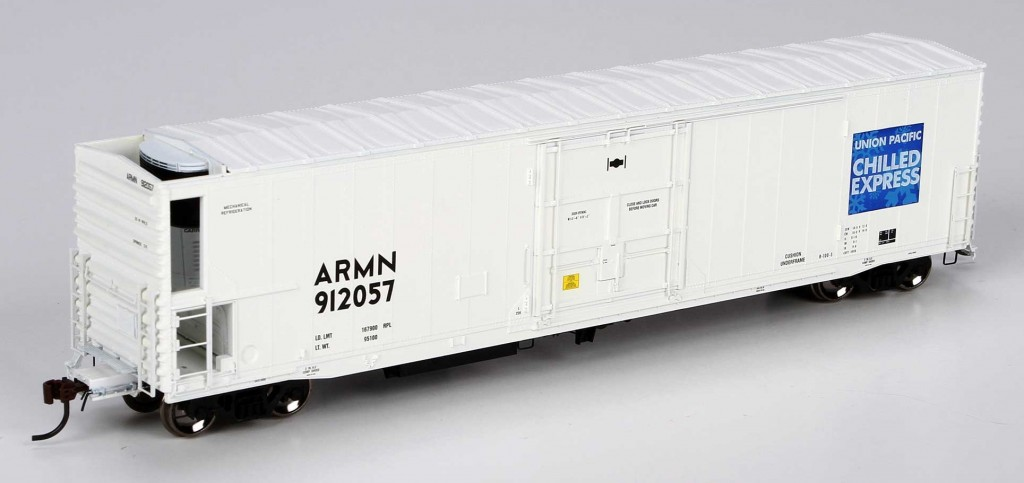 Athearn Genesis HO 57' MECHANICAL REEFER W/SOUND, UP/ARMN #922015