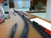 Following my train on to Bert's module.