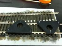 Installing Straight Frog Rail