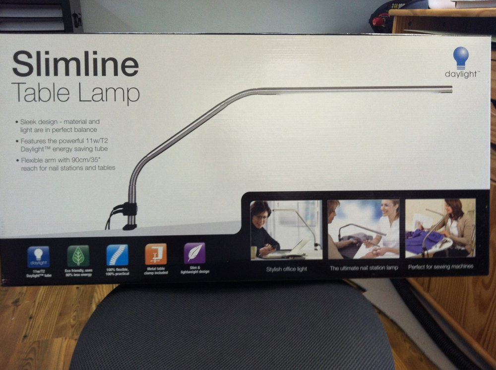 Work light flexibility the industrial lead daylight slimline table lamp aloadofball Images