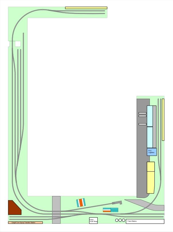 Track Plan - Oriental Lead 1