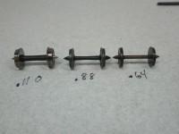 Wheel Comparision: Code 110, Code 88, & Code 64 Proto:87 Wheels.