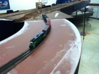 Following my train over Mark's curve module.