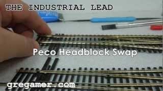 Peco Headblock Swap