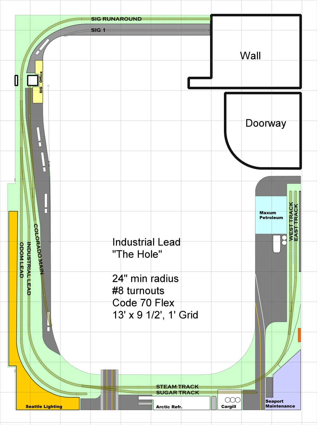 Track Plan - Industrial Lead 39