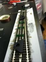Installing Straight Closure Rail