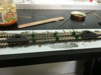 Installing Diverging Closure Rail