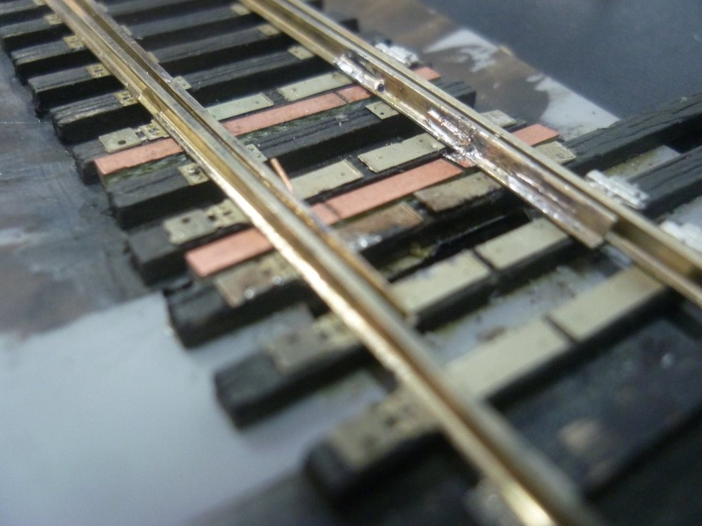 Points soldered to PCB ties and wire